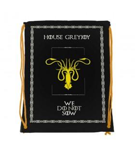 Mochila de cordas House GreyJoy de game of Thrones (34x42 cms.)
