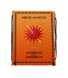 Mochila de cordas House Martell de game of Thrones (34x42 cms.)