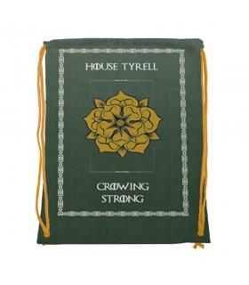 Mochila de cordas House Tyrell de game of Thrones (34x42 cms.)