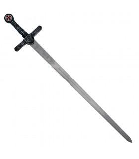 Espada Templária, folha rústico
