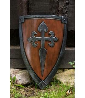 Escudo Cruzados DESDE, 70 x 50 cm