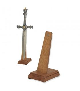 Expositor de espadas (tamanho cadete) na vertical