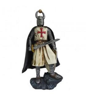 Miniatura cavaleiro Templário com espada