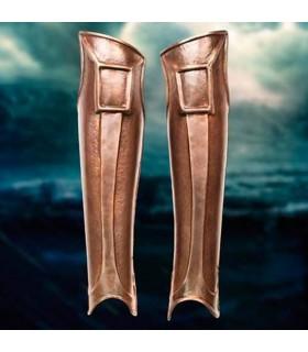 Grevas de Espartano, acabamento bronze
