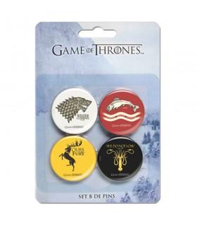 Set B de 4 Pinos série de game of Thrones