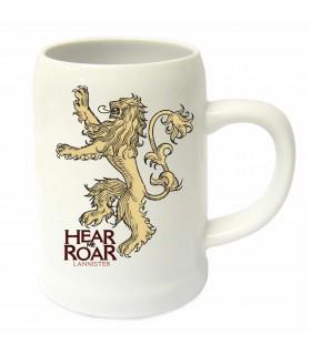 Jarro de cerâmica casa Lannister de game of Thrones