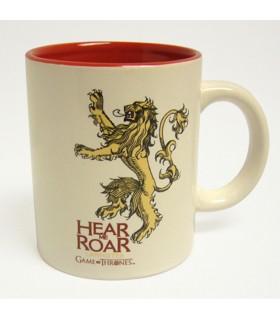 Jarro de Cerâmica casa Lannister de game of Thrones, 2 cores