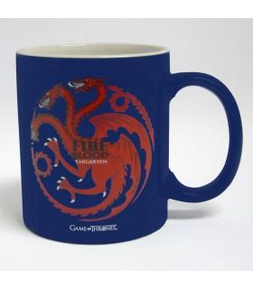 Jarro de Cerâmica casa Targaryen de Jogo de Tronos, 2 cores