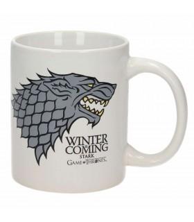 Copo Cerâmica Winter Is Coming de game of Thrones