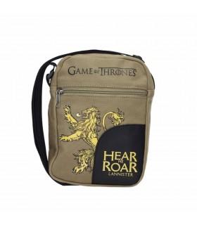 Bolsa pequena de tecido canvas Lannister de Game of Thrones - a guerra dos Tronos