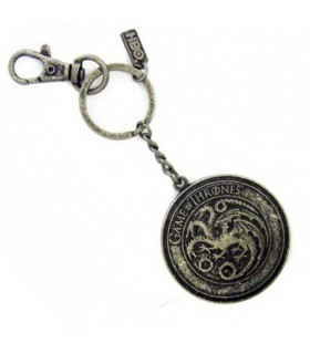 Chaveiro metal casa Targaryen de game of Thrones