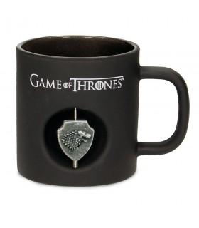 Caneca Vidro Stark de game of Thrones