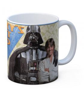 Caneca de cerâmica Galaxy Best Dai de Star Wars