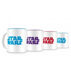 Set Resistência 4 mini xícaras de café cerâmica Star Wars EP VIII