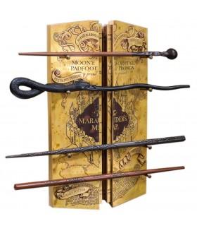 Expositor 4 Varinhas com Mapa do Demolidor de Harry Potter