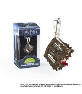 Pingente Monster Book of Monsters, Lumos, Harry Potter