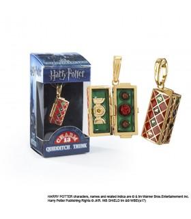 Pingente Quadribol Trunk, Lumos, Harry Potter