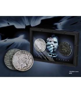 set 2 moedas Harvey Dent, Batman: duas faces com expositor