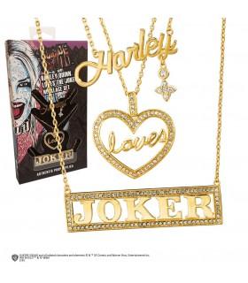Set 3 pingentes Harley, ama, Joker filme Esquadrão Suicida