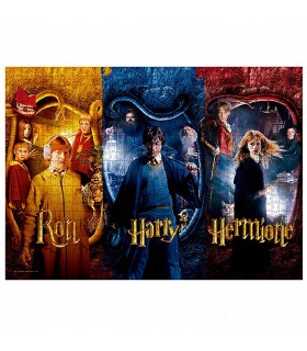 Puzzle de 1000 peças de Ron, Harry e Hermione de Harry Potter