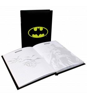 Livro com luz Batman, a DC Comics