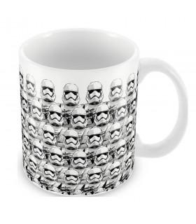 Caneca em cerâmica com Estampa Stormtroopers Ep. 7, Star Wars
