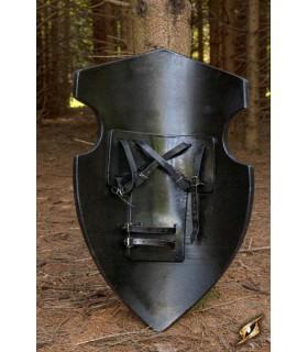 Escudo medieval de Saqueador 90 x 60 cm, látex