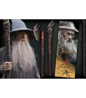 Caneta esferográfica e Marca páginas Cajado de Gandalf, O Senhor dos Anéis
