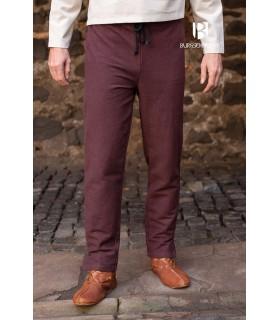 Calças medievais Gunnar, marrom