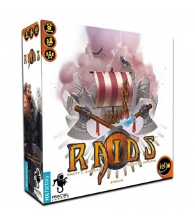 Jogo de mesa viking Raids (em espanhol)