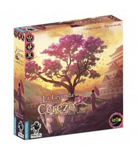 Jogo de mesa A Lenda da árvore de Cereja que floresce a cada dez anos (em espanhol)