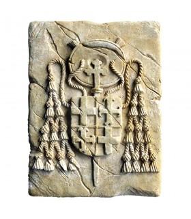 Pegada Histórica Selo dos cardeais, 20 x 15 cm