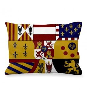 Almofada Retangular Medieval Escudo Borboni