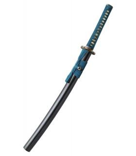 Shikoto Longquan Master Teal Espada, forjada a mão