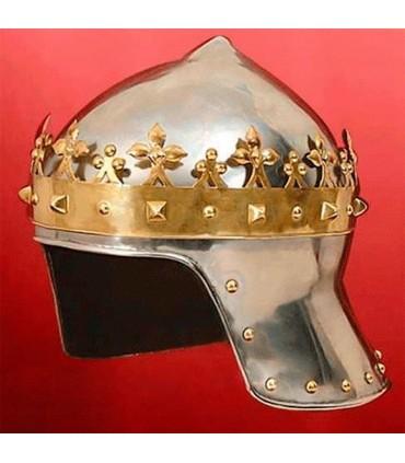 Capacete Rei Cruzado, Ricardo Coração de Leão