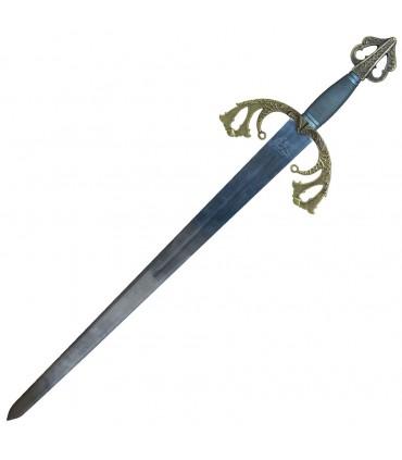 Espada a espada longa do Cid série Marto Forjamento