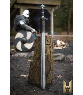 Espada Dreki série Stronghold, cor metal