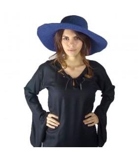Chapéu medieval elegante em lã