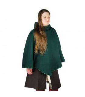Gugel viking Egill, lã verde