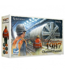 Jogo de mesa Channel Tunnel 1987, em Português
