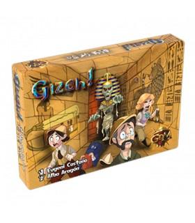 Jogo de mesa Gizeh (espanhol, francês, inglês, alemão)