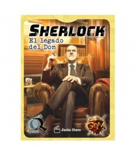 Jogo de mesa Sherlock o Legado do Don, em Português