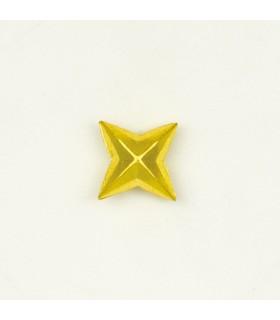 Estrela de 4 pontas de metal para uniforme