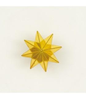 Estrela de 8 pontas de metal para uniforme