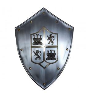 Medieval escudo Castilla y León