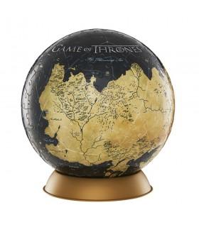 Quebra-cabeça 3D do Globo Westeros e Essos, a game of Thrones