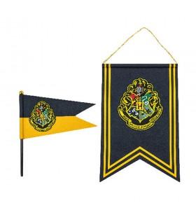 Bandeira e brasão de Hogwarts, de Harry Potter