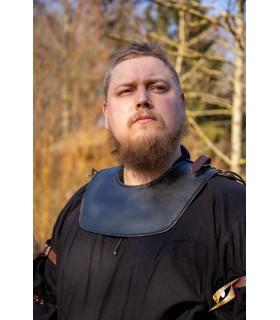 Gorjal de guerreiro medieval, cor escura