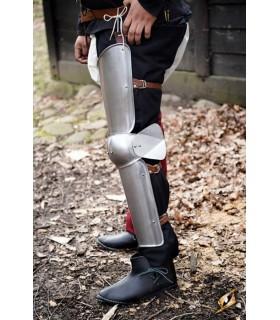 Protetores de pernas de Soldado, acabamento acetinado