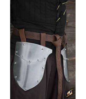 Escarcelas medievais de Guerreiro, acabamento polido